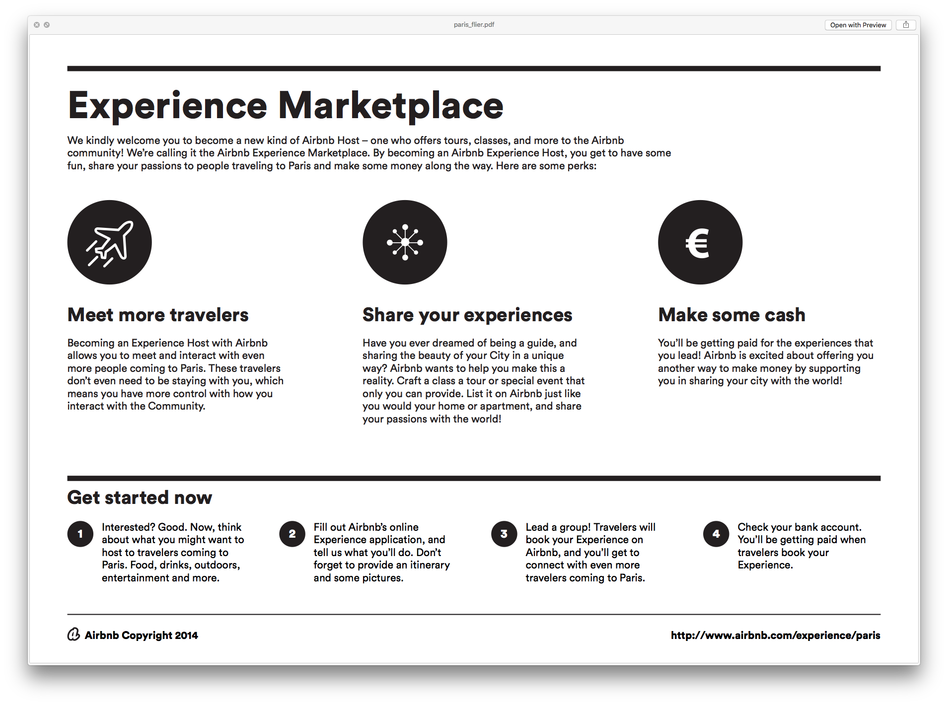 Experience Marketplace 2018